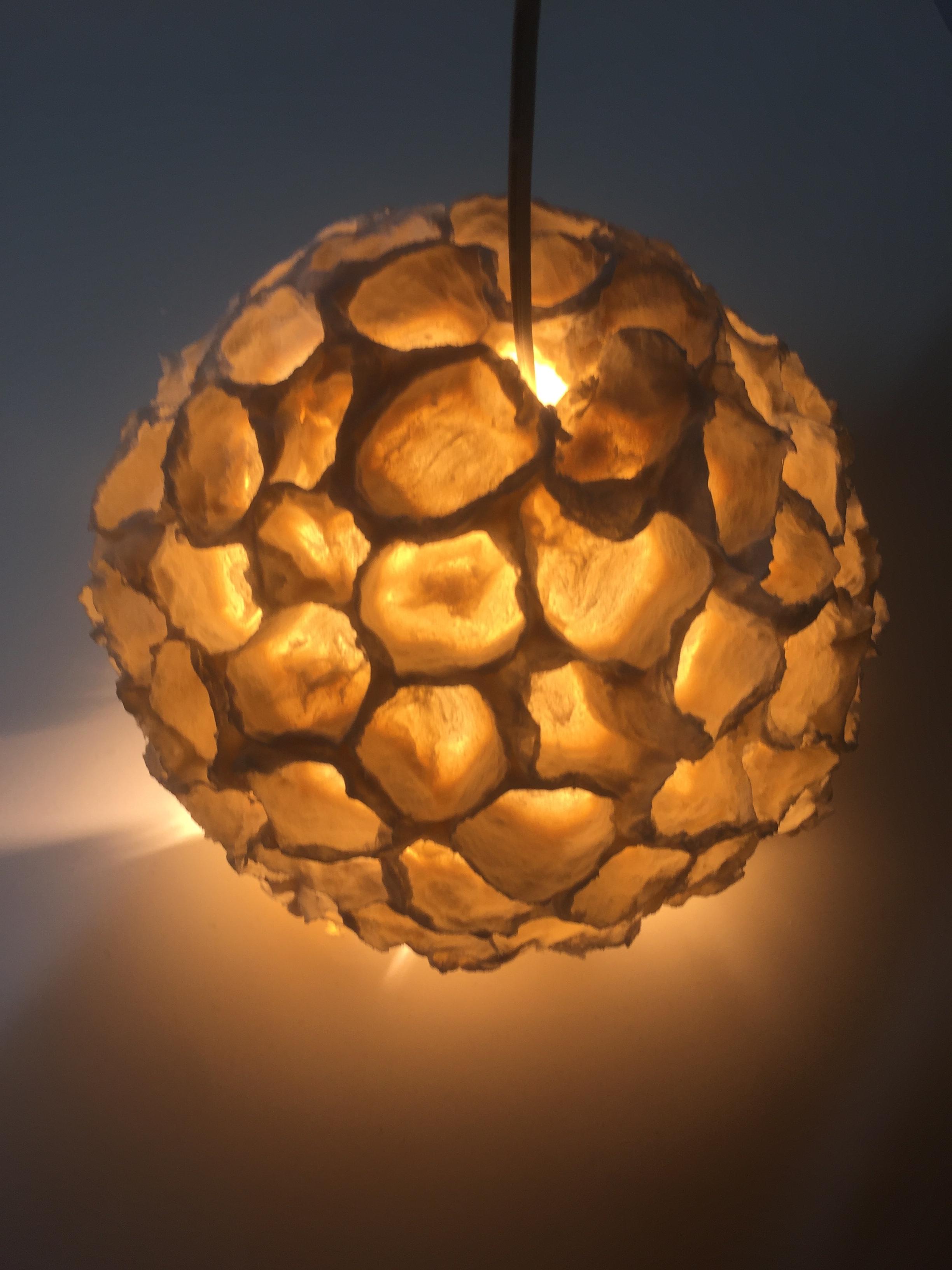electriche porseleinen lamp